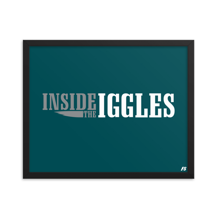 Inside The Iggles Premium Matte Framed Poster