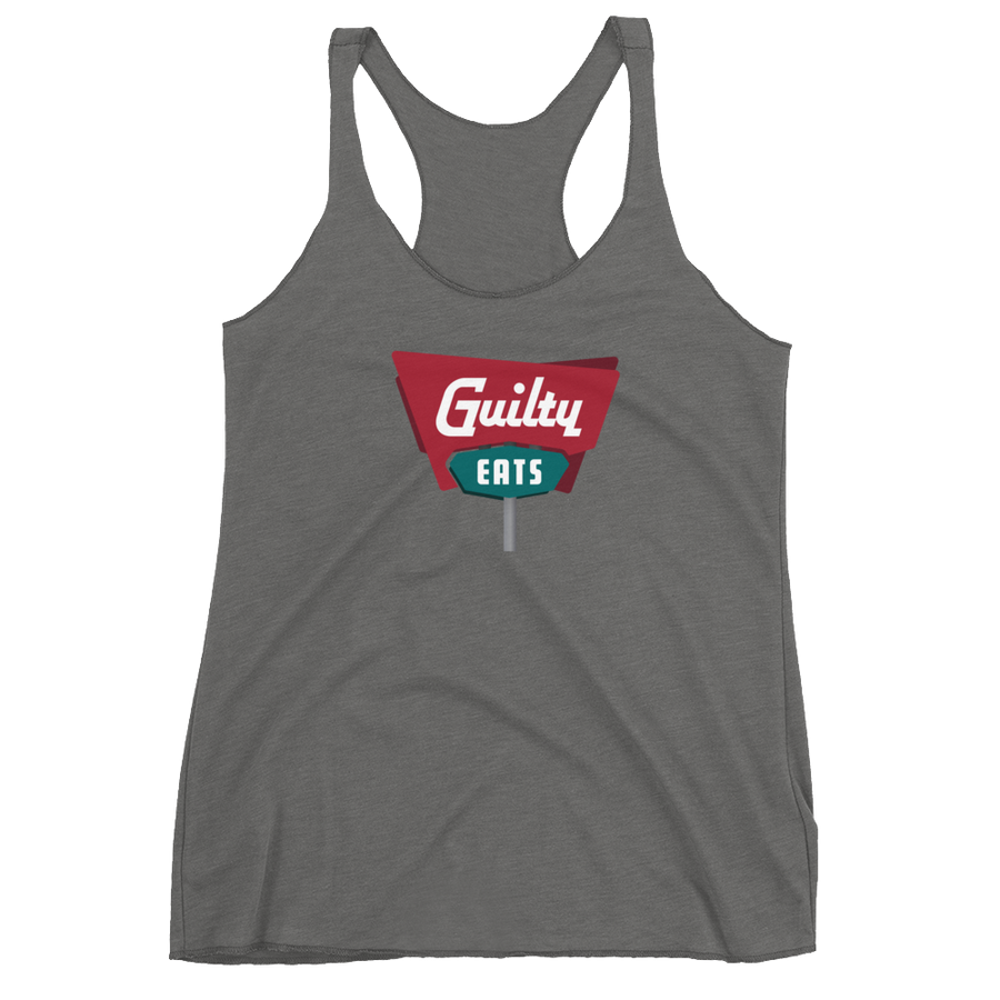 Guilty Eats Women's Racerback Tank