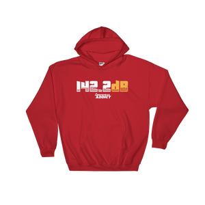 142.2dB Arrowhead Addict Hooded Sweatshirt