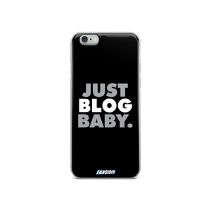 Just Blog Baby iPhone Case