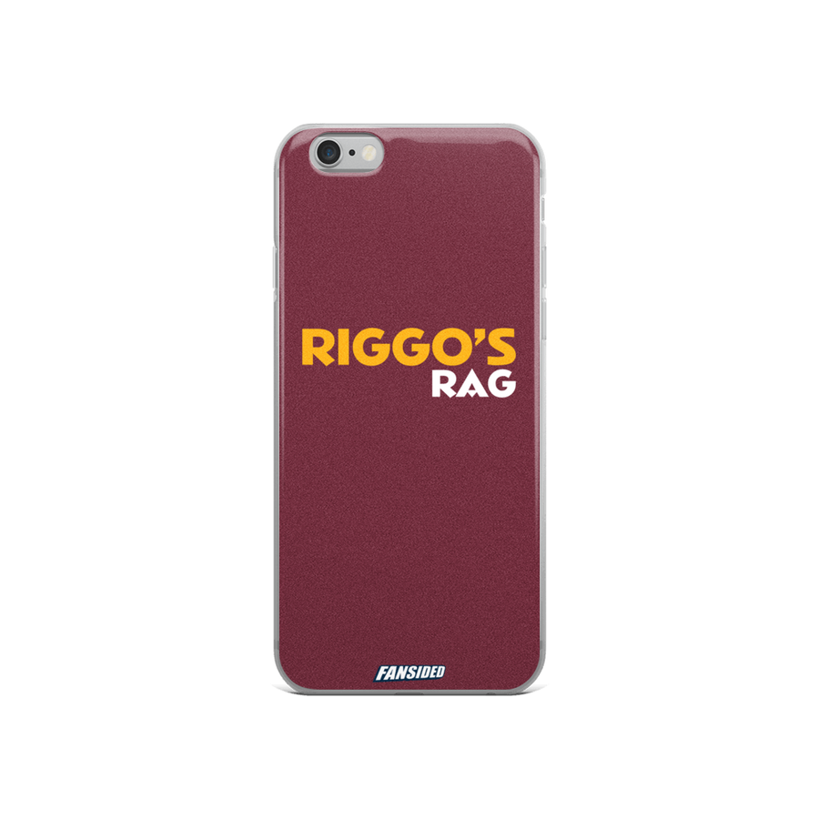 Riggo's Rag iPhone Case