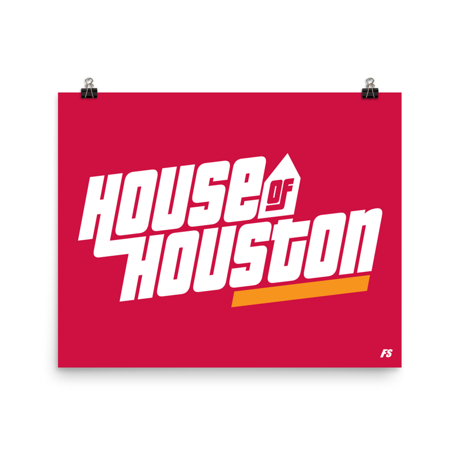 House of Houston Poster