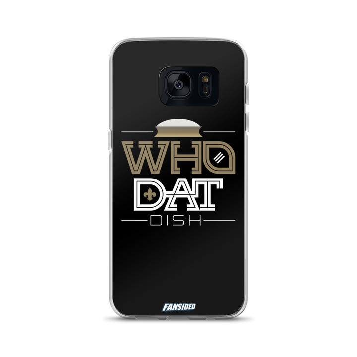 Who Dat Dish Samsung Case