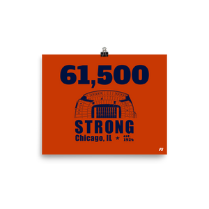 61,500 Strong Poster