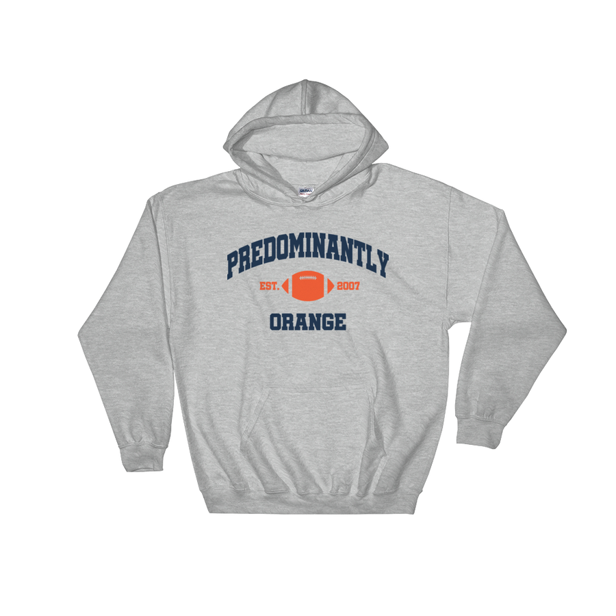 Predominantly Orange  Hooded Sweatshirt