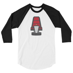Turn That Chair 3/4 sleeve raglan shirt