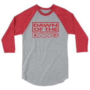 Dawn of the Dawg 3/4 sleeve raglan shirt