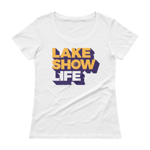Women's Lake Show Life Scoopneck T-Shirt