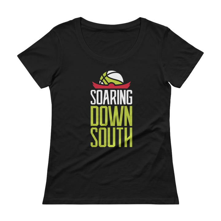 Woman's Soaring Down South Scoopneck T-Shirt