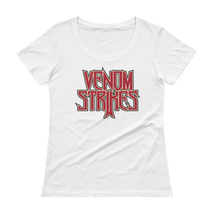 Women's Venom Strikes Scoopneck T-Shirt