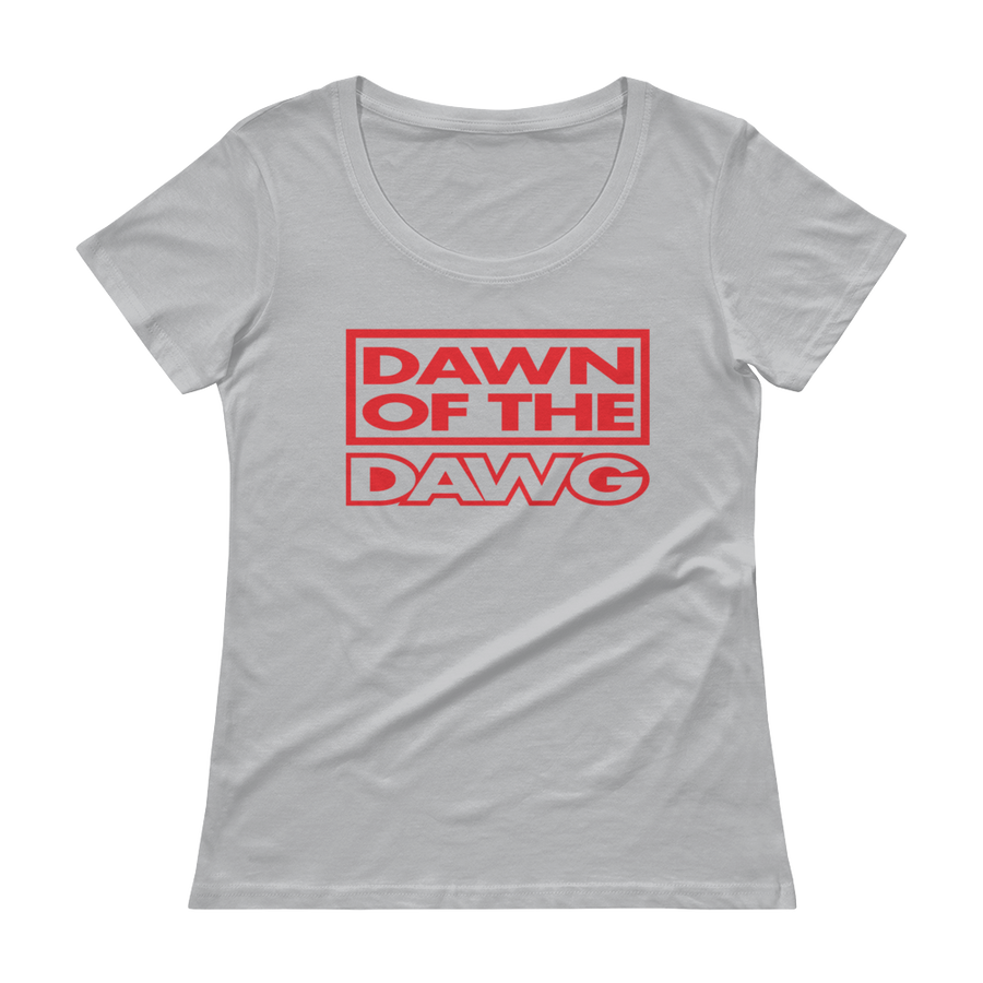 Women's Dawn of the Dawg Scoopneck T-Shirt