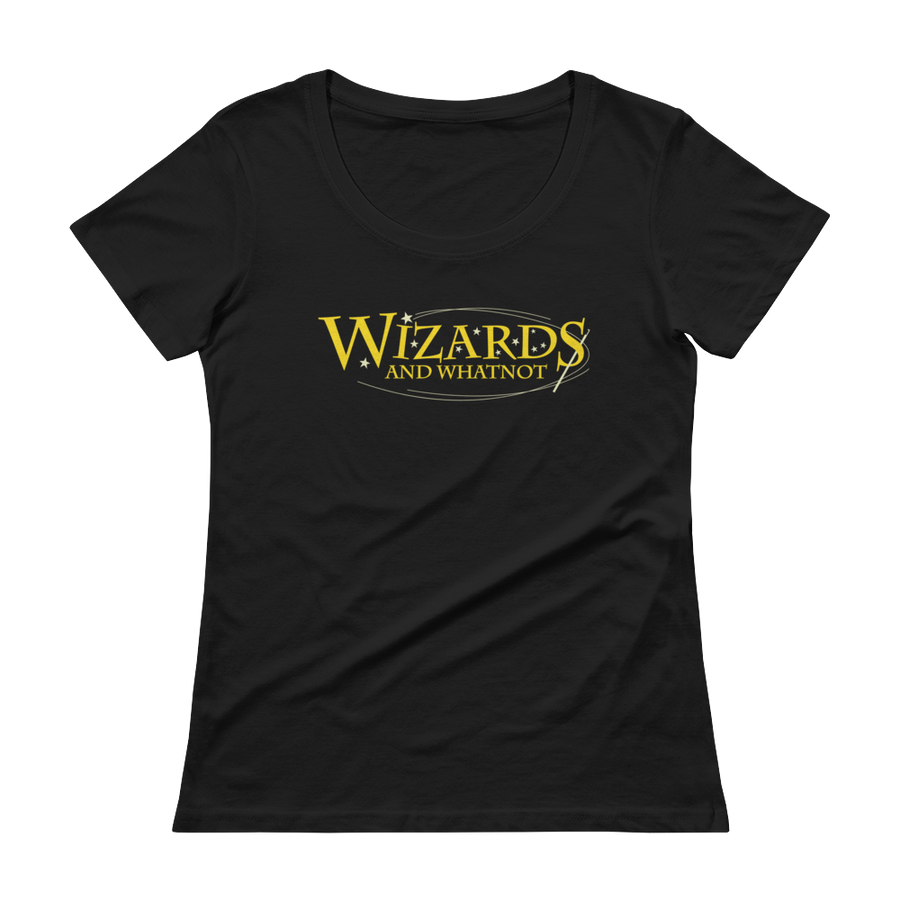 Women's Wizards and What Not Scoopneck T-Shirt