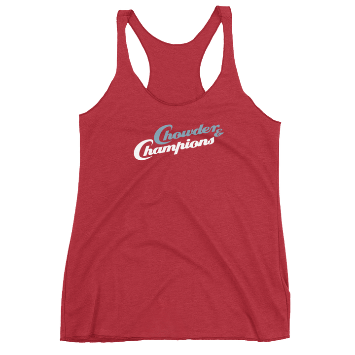 Chowder and Champions Women's Racerback Tank