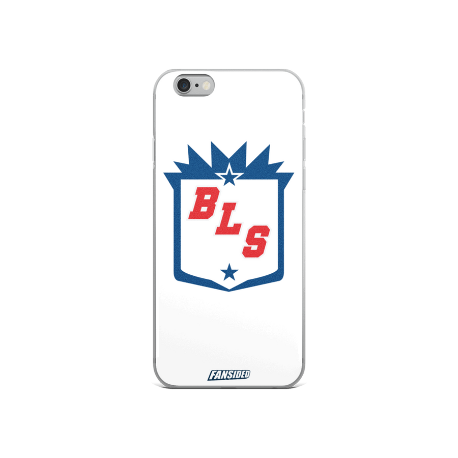 Blue Line Station iPhone Case