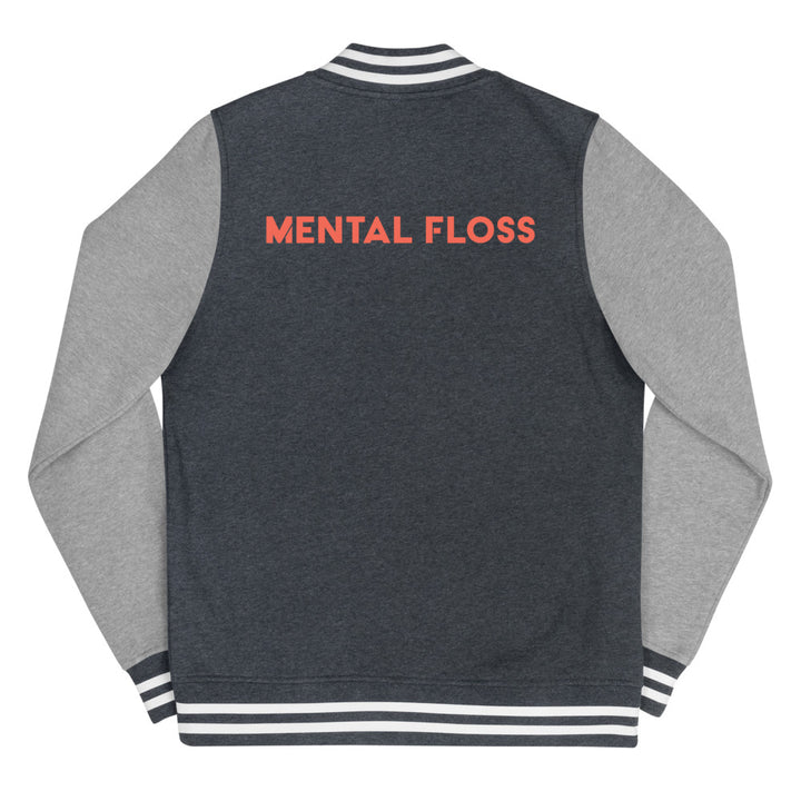 Mental Floss Women's Letterman Jacket