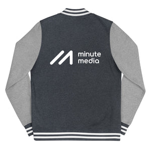 Minute Media Women's Letterman Jacket
