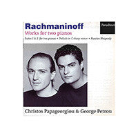 Rachmaninoff - Works for Two Pianos