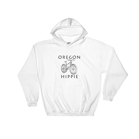 Oregon Bike Men's Hippie Hoodie