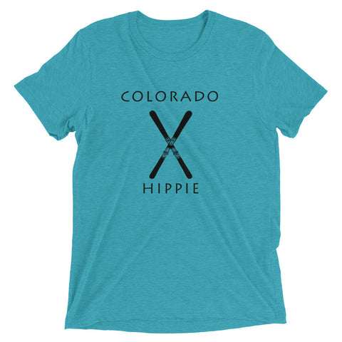 Colorado Ski Hippie™ Unisex Tri-blend T-Shirt