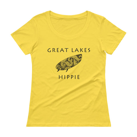 Great Lakes Surf Hippie™ Scoopneck T-Shirt