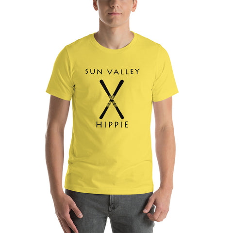 Sun Valley Ski Hippie Unisex Jersey T-Shirt