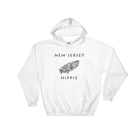 New Jersey Surf Men's Hippie Hoodie
