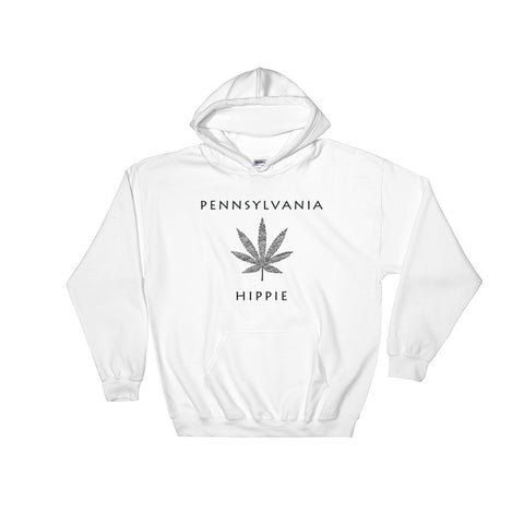 Pennsylvania Marijuana Hippie Hoodie--Men's