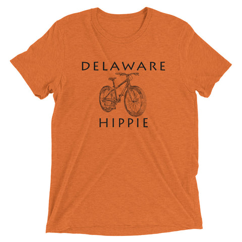 Delaware Bike Hippie™ Unisex Tri-blend T-Shirt