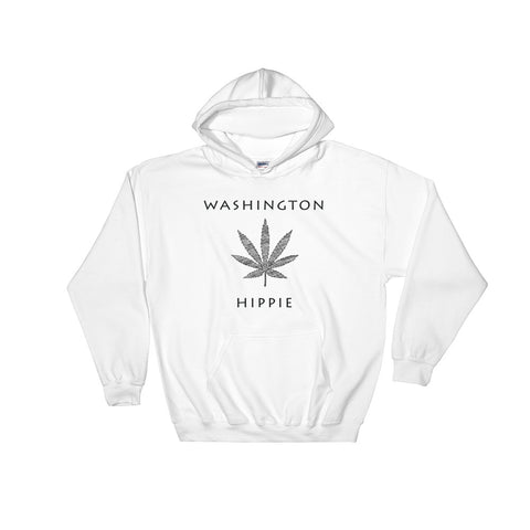Washington Marijuana Hippie Hoodie--Men's