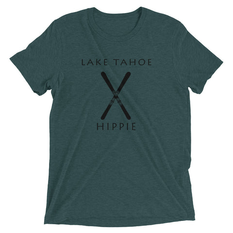 Lake Tahoe Ski Hippie Unisex Tri-blend T-Shirt