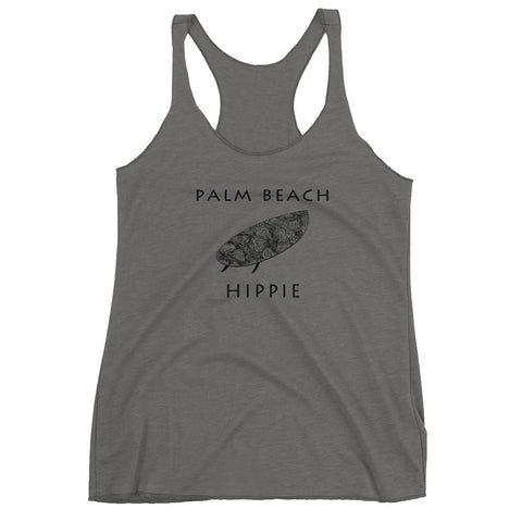 Palm Beach Surf Hippie Women's Racerback Tank