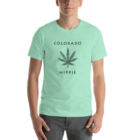 Colorado Marijuana Hippie™ Unisex Jersey T-Shirt
