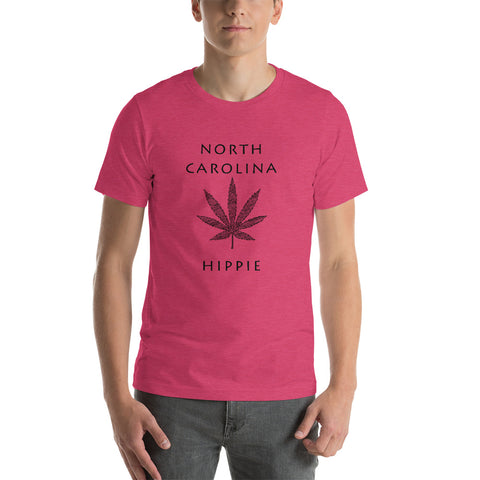 North Carolina Marijuana Hippie Unisex Jersey T-Shirt