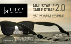 Luxe Performance Cable Strap 16""