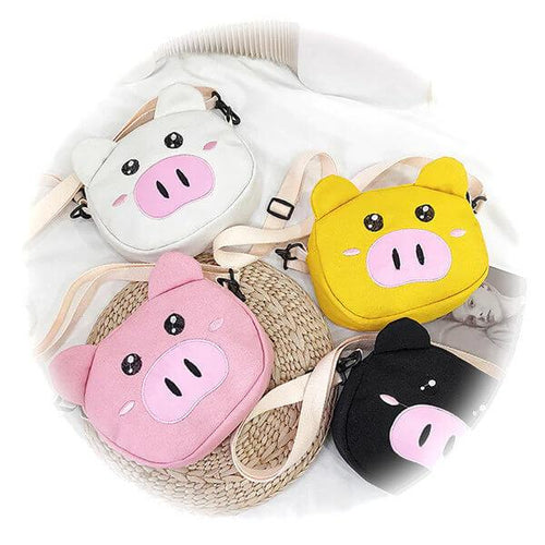 Kawaii Pig Shoulder & Crossbody Bag