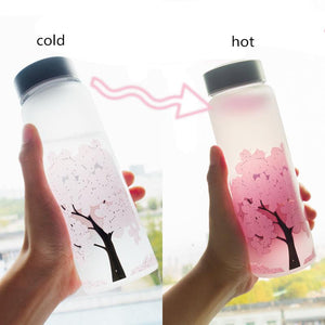 Magic Color Changing Sakura Bottle