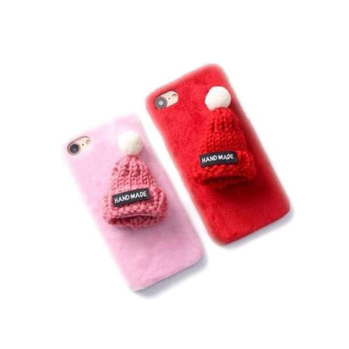 Wool IPhone (5 To 8) Case With Beanie