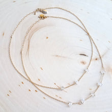 Five Herkimer Diamond Necklace WS