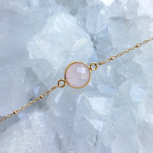 Rose Quartz Gemstone Bracelet
