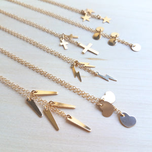 Mini Spike Necklace