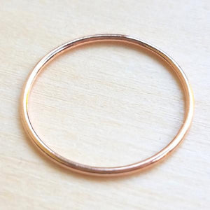 Single Rose Gold Filled Ring