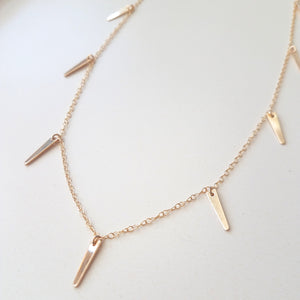 Full Spike Necklace