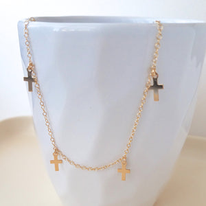 Full Cross Necklace