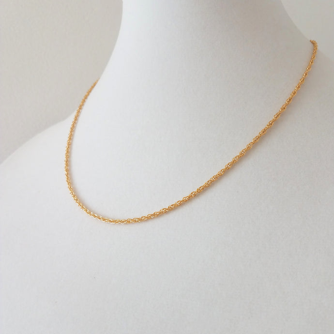 Rope Chain Layering Necklace
