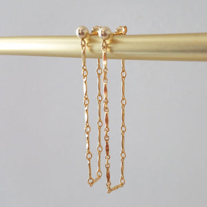 Marquis Loop Earrings
