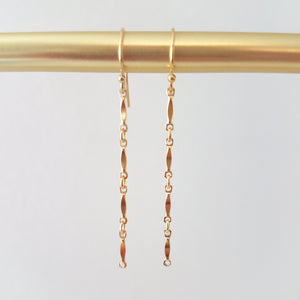 Marquis Bar Earrings WS