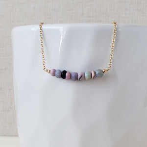 Opal Necklace - October Birthstone