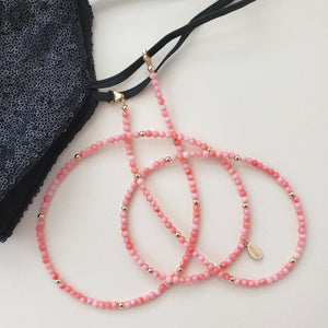 Pink Coral Mask Chain