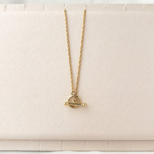 Front Toggle Rope Necklace