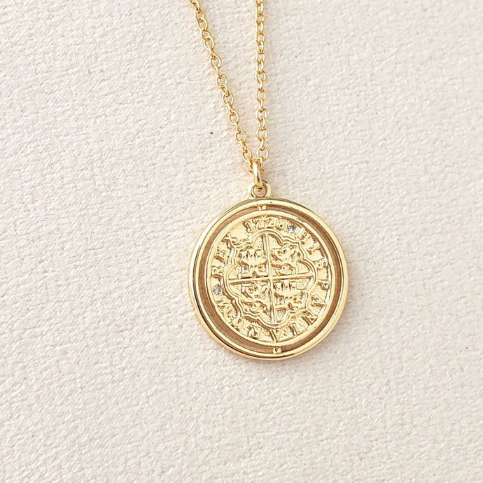 Hispania Coin Pendant